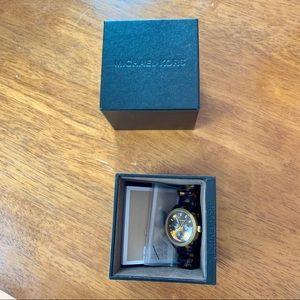 Michael Kors Accessories - Michael Kors Tortoise Watch With Original Box